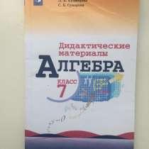 Дидактический материал / 7 класс, в Челябинске