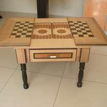 Столик журнальный (шахматы, нарды), в Уфе