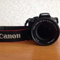 Зеркальный фотоаппарат Canon 600D, в Нижнем Новгороде