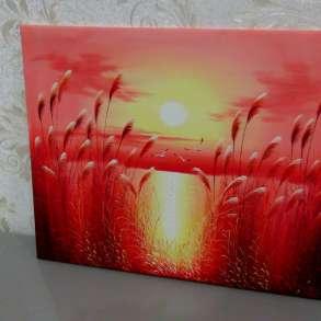 Закат, 60х50см, Картина маслом на холсте, Художник, в Москве