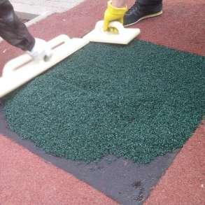 Ремонт резинового покрытия и искусственной травы спортивных, в Екатеринбурге