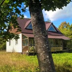 Дом на хуторе, все удобства, своя газ. ветка, 7 Га. земли, в Пскове