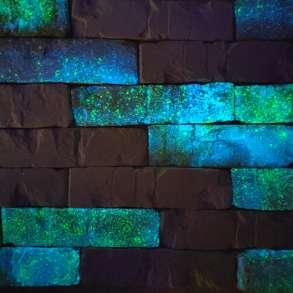 Интерьерная плитка светящаяся в темнкир,кирпиамень GREENSTON, в Москве