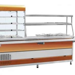 Мини-линия раздачи ПВХМ-70КМУ мармит витрина прилавок, в Уфе