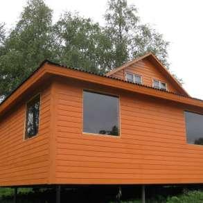Продам ижс дом на 290 сотках на берегу озера и реки у леса, в Санкт-Петербурге