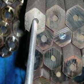 Шестигранник буровой 25 отверстие 7,2мм сталь 55С2, в Екатеринбурге