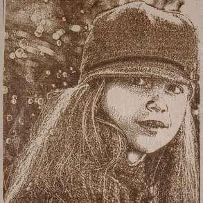 Выжигаю портреты и картины на дереве по фото, в Ставрополе