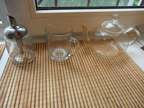 Замечательные посуда из белого фарфора+ стеклянная в Санкт-Петербурге фото 7