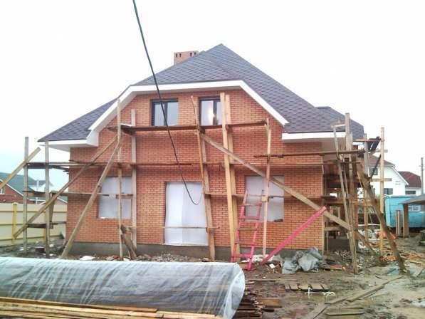 Постройте дом. Фундамент, стены, крыша