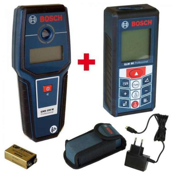 Набор электроинструмента Bosch GLM 80+GMS 100 06159940AU