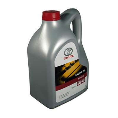автозапчасти TOYOTA 5W40 ENGINE OIL Мо