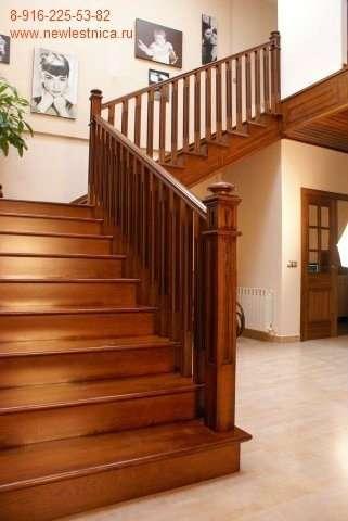 Красивые лестницы для дома, коттеджа Новая Лестница