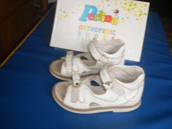 Ортопедические сандалии для девочки 28 размера в Санкт-Петербурге фото 3