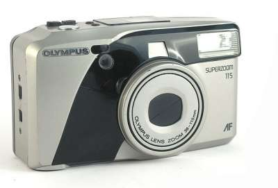пленочный фотоаппарат Olympus superzoom 115