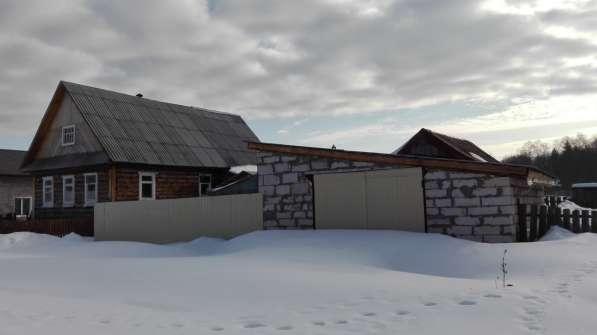 Дом с участком в Новой Вожойке