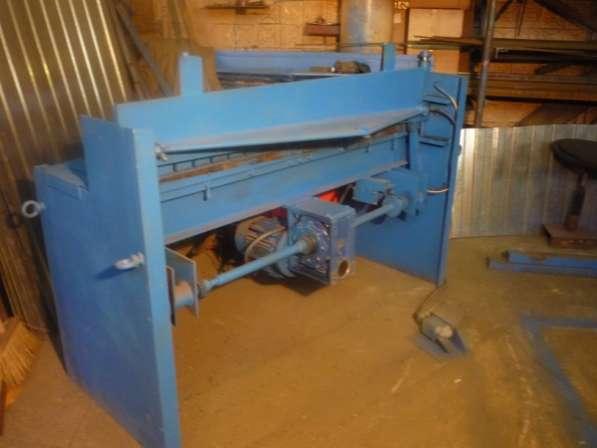 Купить электромеханическую гильотину для металла в Саратове