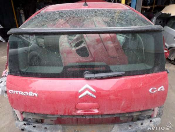 Крышка багажника бу на Ситроен С4(Citroen C4)