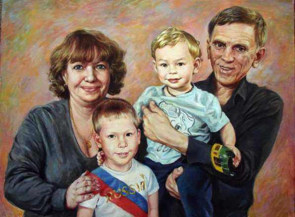 Портрет на заказ в Казани
