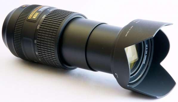 Объектив на зеркальный фотоаппарат Nikon