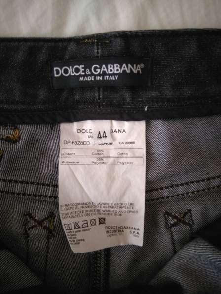 Dolce&Gabbana женские джинсовые шорты новые S 100% authentic в фото 3
