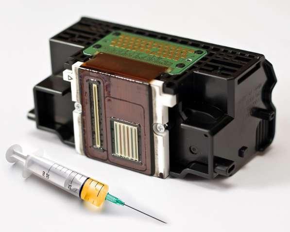 Промывка печатающих головок струйных принтеров