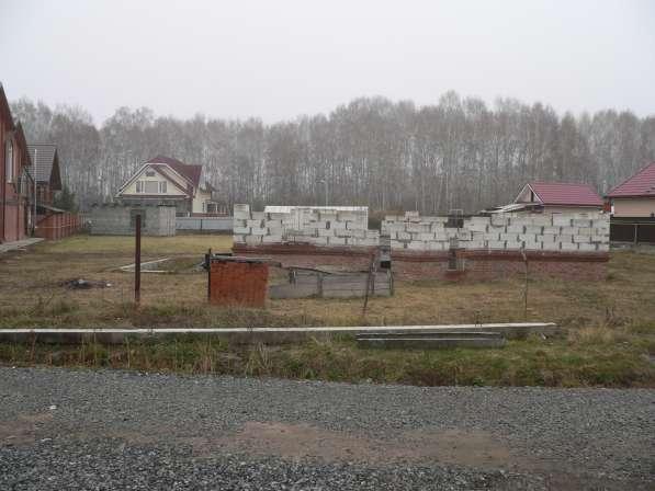 Земельный участок с недос.коттедж,газ.вода,эл в Бердске фото 7