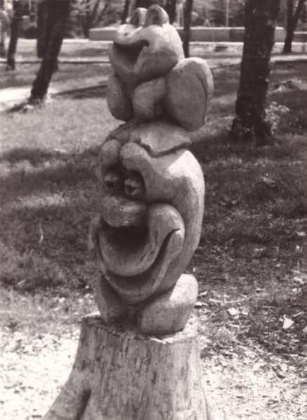 СКУЛЬПТУРА для ландшафта из дерева, камня, метала, памятники в Краснодаре фото 12