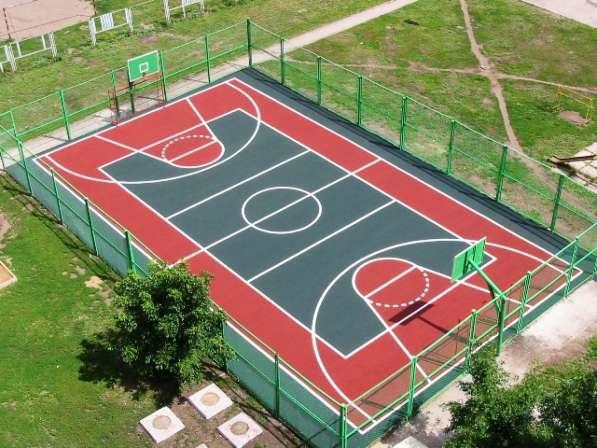Волейбольные и баскетбольные площадки