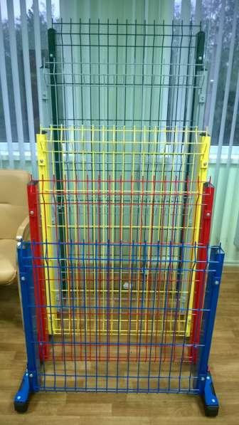 3D забор, 3Д сварная панель 1730x2500x3мм Цинк