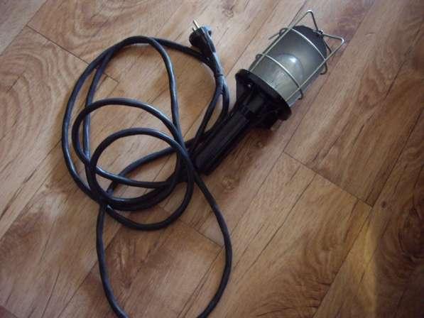 Светильник переносной 3м с выключателем