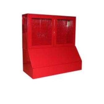 Стенд окно - сетка с ящиком 0,3 м. куб