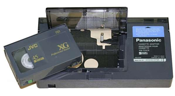 Оцифровка видеокассет Video8, VHS-C, D8, Mini-DV