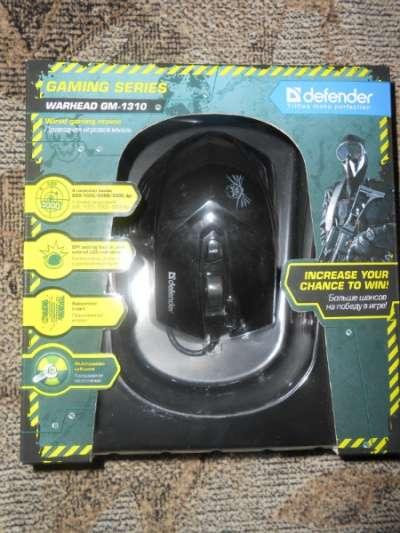 Мышь Defender Warhead GM-1310 Black USB.