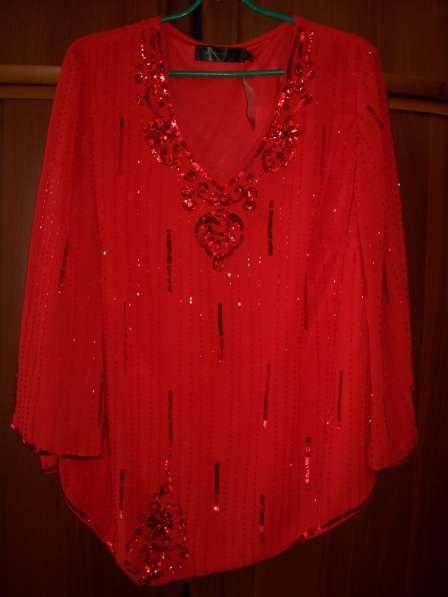Блузка-туника, размер 50-52