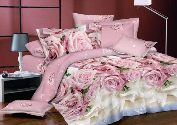 Вариация расцветок и стилей в постельном белье из поплина от