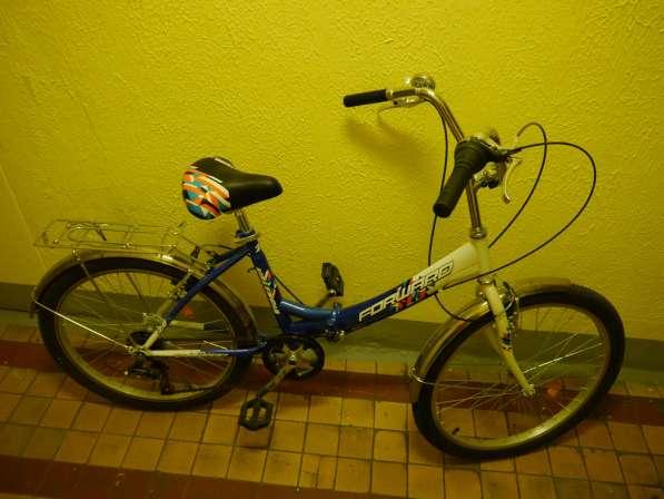 Велосипед FORWARD Valencia, цвет бело-синий