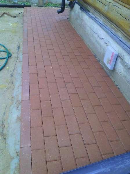 Тротуарная плитка под ключ в Егорьевске фото 7