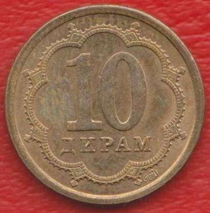 Таджикистан 10 дирам 2006 г. СПМД