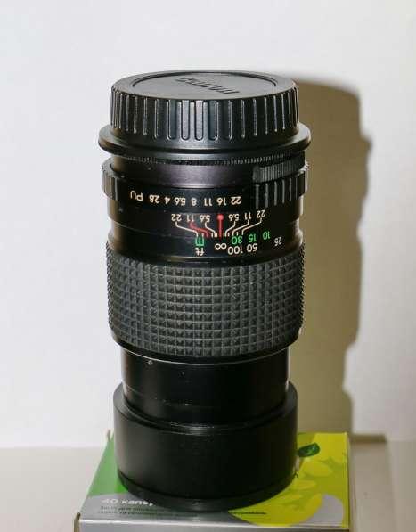 Объектив светосильный, мануал- PRAKTICA 2,8 f=135mm, в идеал