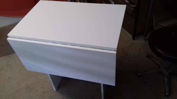 стол раскладной - белый
