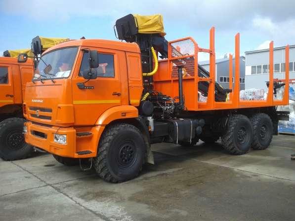Сортиментовоз КАМАЗ-43118 с ГМУ ОМТЛ-70
