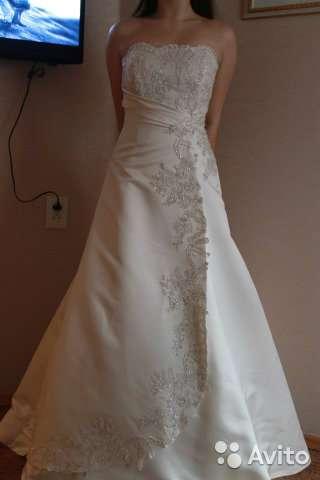 свадебное платье Размер: 44–46 (M)