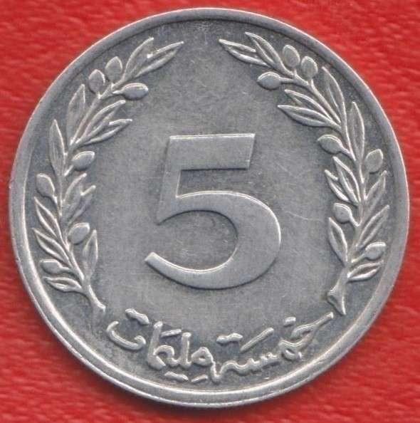 Тунис 5 миллимов 2005 г.