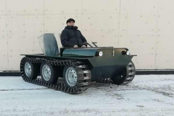 Вездеход Егоза «Охотник-1» в Иркутске фото 9