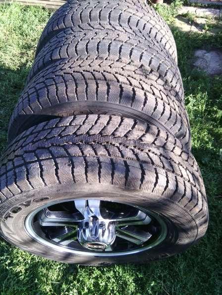 Зимние колёса в сборе на внедорожник Ховер пробег 400км