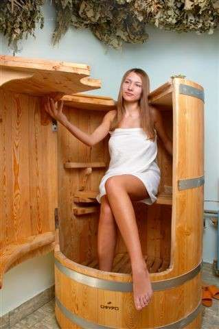 Фитобочка + пантовые ванны для ног