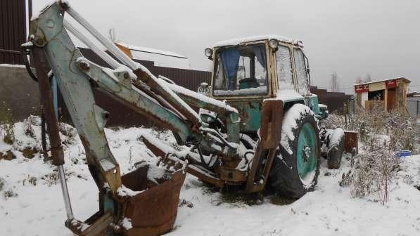 Продам трактор-экскаватор в рабочем состоянии в Дмитрове фото 3