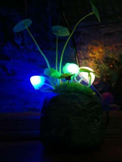 Оригинальный светильник Аватар-Грибы