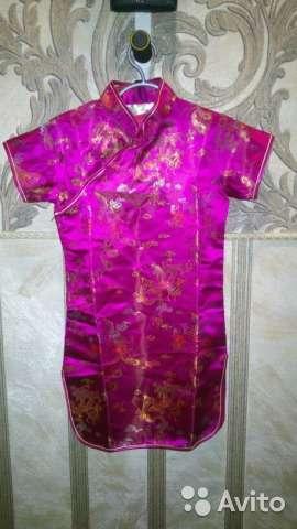 Детское китайское платье