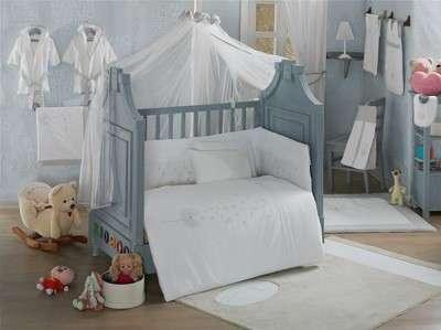 Детское постельное белье 3-х предметное Blossom Saten Vanill